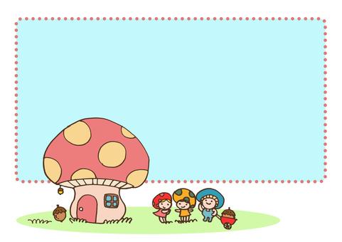 fairy _ mushroom fairy and mushroom house 1