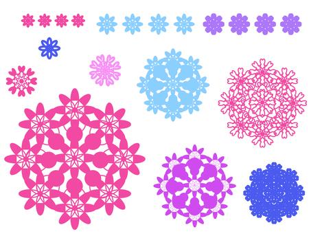 Flower motif 4