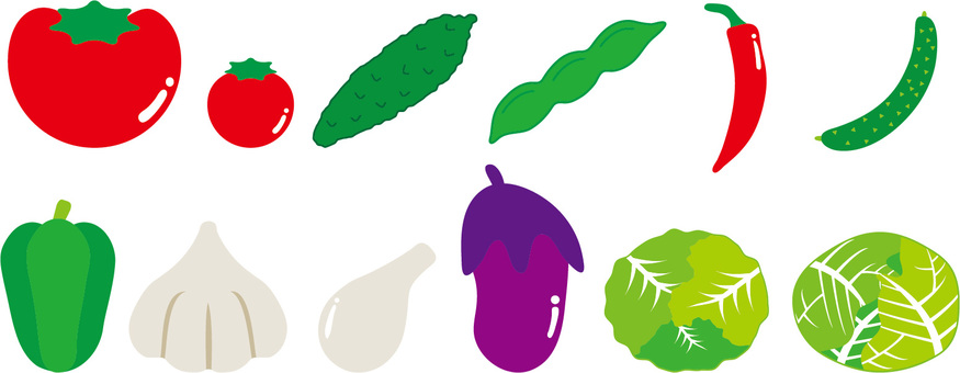 Summer vegetables list