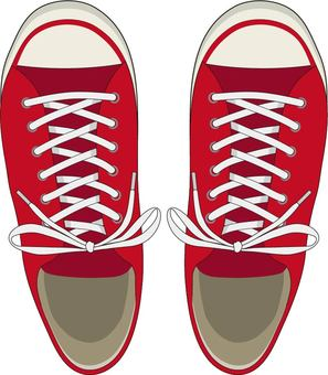 Sneakers red knot