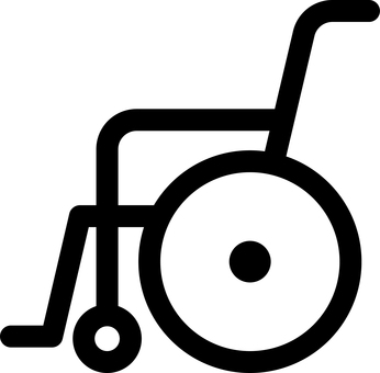Wheelchair Welfare Care Pictogram