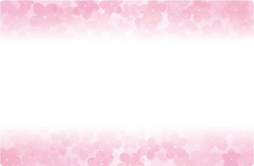벚꽃 카드 2