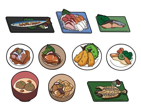 Fish dish set