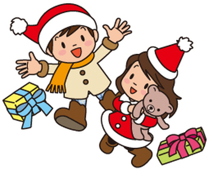 Christmas, gifts, children