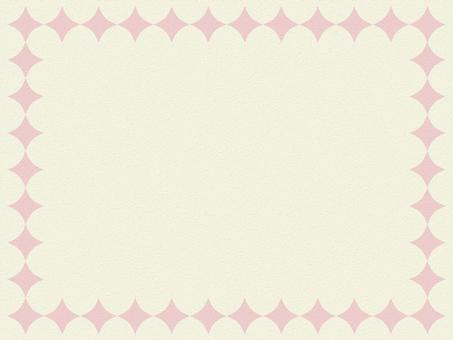배경 간단한 Frame 핑크