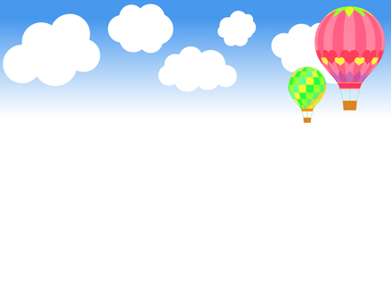 Balloon _ Sky background