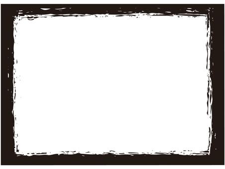 Frame (squares, scrapes, inks)