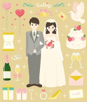 happy wedding! ~ Black hair ver ~