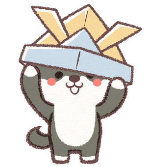 Kabuto Shiba dog