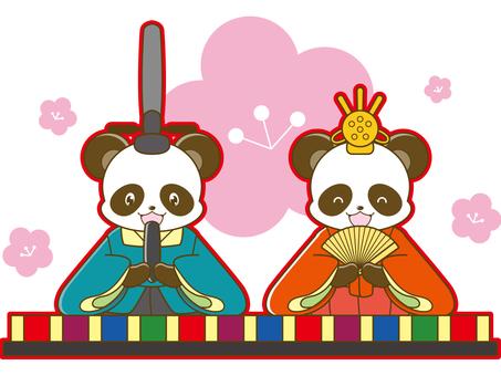 Panda Illustration _ Okinawa _ 01