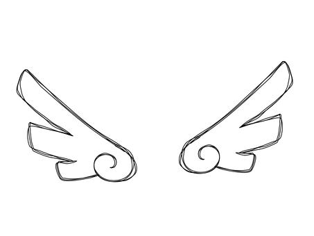 깃털 날개 단순