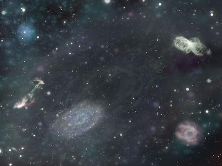 Space wallpaper rough ①