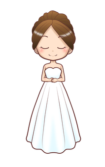 Wedding dress - A line