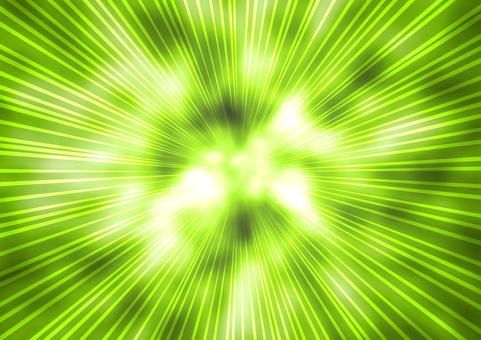 Flash background green