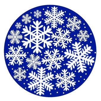 Icon with snowflake 2