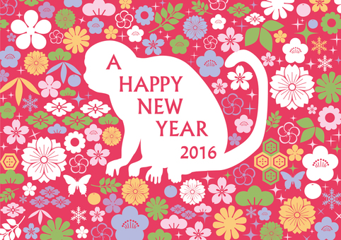 2016 New Year's card design 5