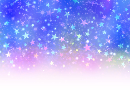 Colorful starry sky wallpaper gradient blue