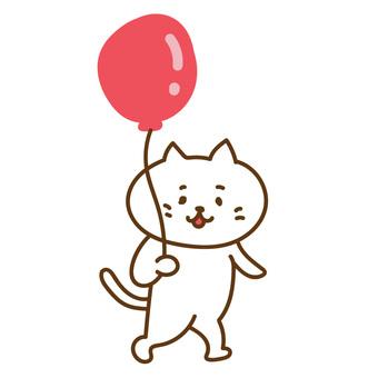 Balloon cat
