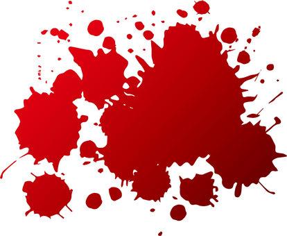 Blood droplets