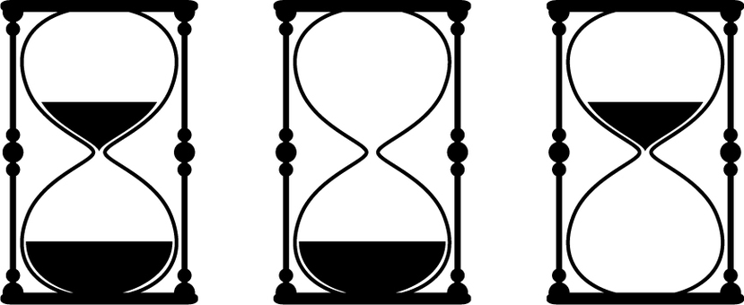 Hourglass silhouette 3