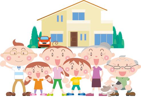 Two-family residential family family