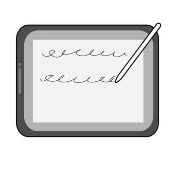 在平板電腦上記筆記