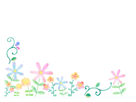 Flower blooming in the field ★ 0073-F
