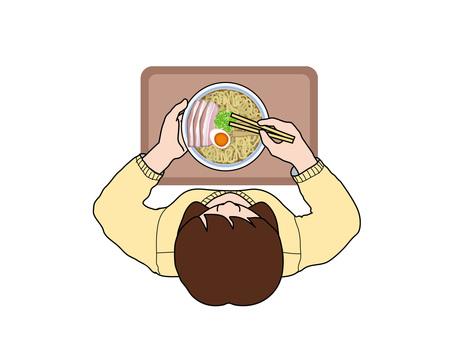 Meals (18) Women who eat ramen