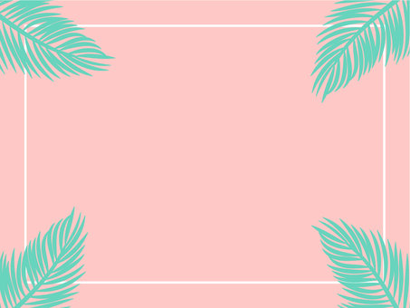 Summer frame pink