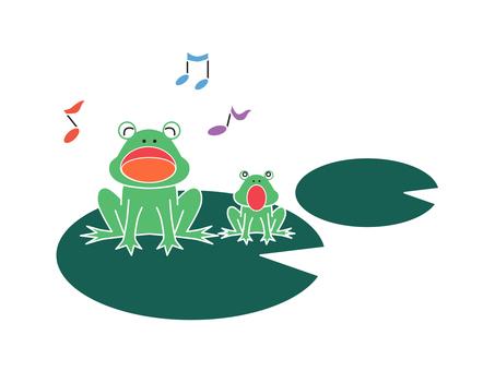 개구리의 부모와 자식의 합창 02