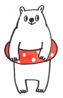 Polar bear buoy