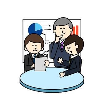 会議のイラスト