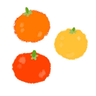 Illustration of mini tomato