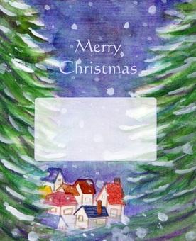 Christmas night view message