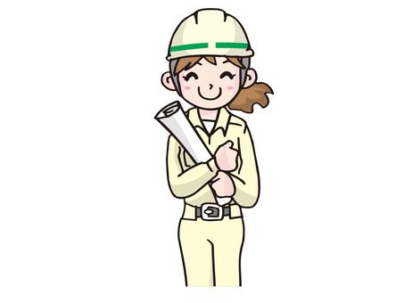 Female site supervision