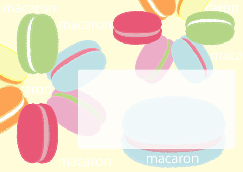 macaron_ 마카롱 24_ 프레임