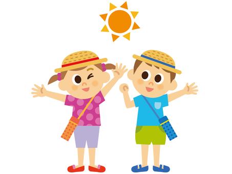 People _ Children _ summer