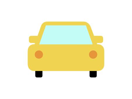 Car automatic car horizontal yellow