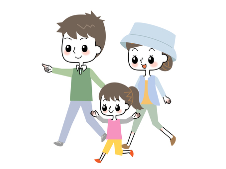 Go out with family