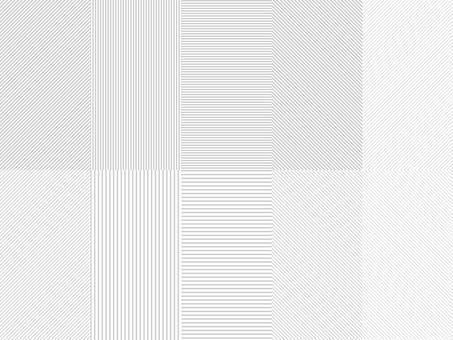 스트라이프 패턴 그레이 견본