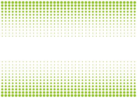 Early summer dot gradation frame ☆ Wallpaper