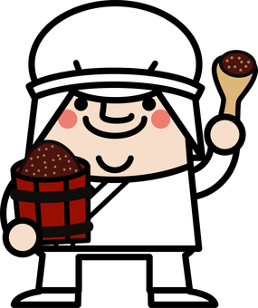 Uncle fairy Hatcho Miso factory manager