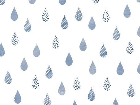 Background material * Raindrop handwritten pattern 1