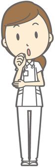Female nurse - Fumifuku - whole body