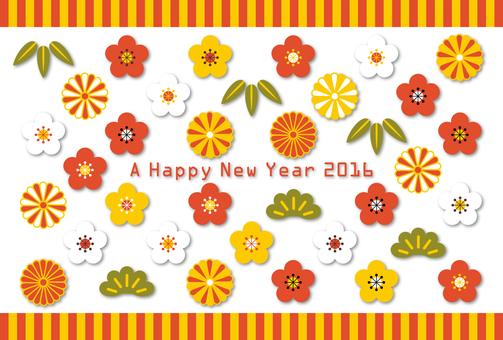 新年賀卡材料140