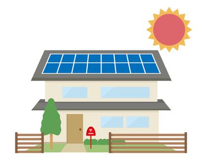 제로 에너지 하우스 태양 광 집