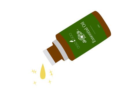 Aroma bottle (green)