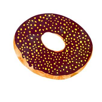 Choco Donut (Golden)