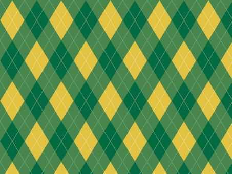 Argyle ● Green × Yellow
