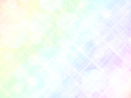 Pastel rainbow with sparkling background